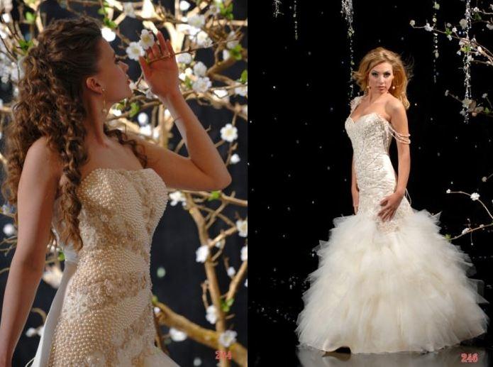 Коллекция свадебных платьев Афродита от украинских дизайнеров