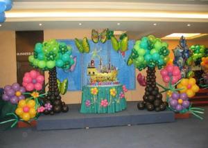 Оформление воздушными шарами – любой праздник будет волшебным