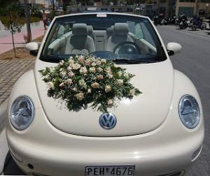 Как украсить свадебную машину?