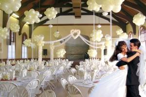 Воздушные шары – украшение свадьбы
