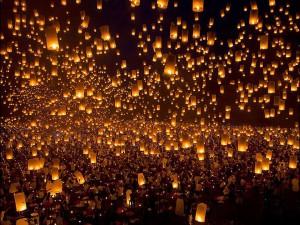 Небесные фонарики – вырази свои чувства по-особенному