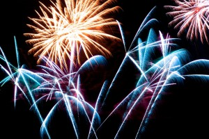 Фейерверк как элемент праздника