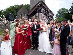 Звездопад конфетти - романтическое украшение любой свадьбы